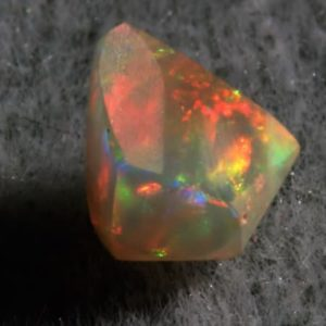 1.1 cts. Bright Color Play White Opal (pre-polished)