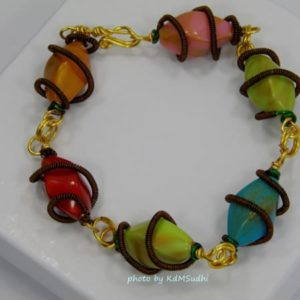Colorful Links Bracelet