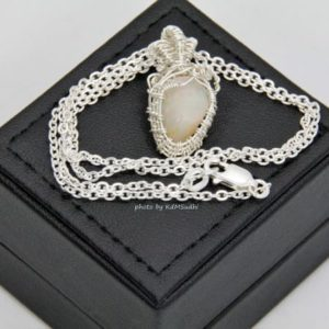 Natural Opal Sterling Silver Pendant
