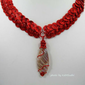 Red Egyptian Necklace