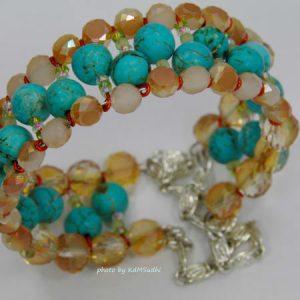 Sinox Crystal Magnesite Bracelet/Bangle