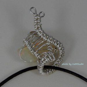 Snail Opal Pendant