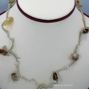 Wild Branches Opal Necklace